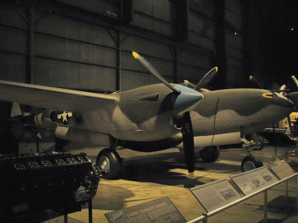 WWII American Fighters: P-40, P-38, P-47 | The Trail